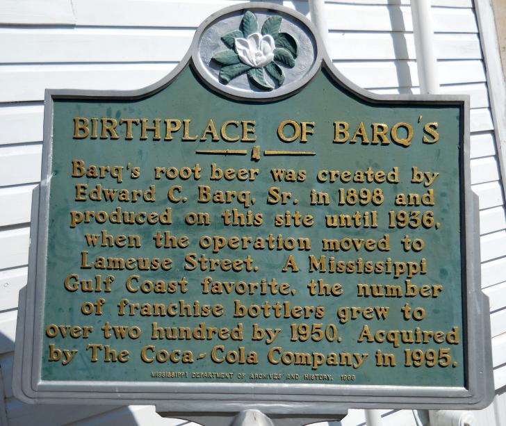 Barq's Plaque
