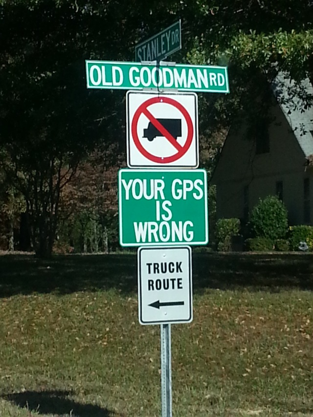 Your GPS is Wrong