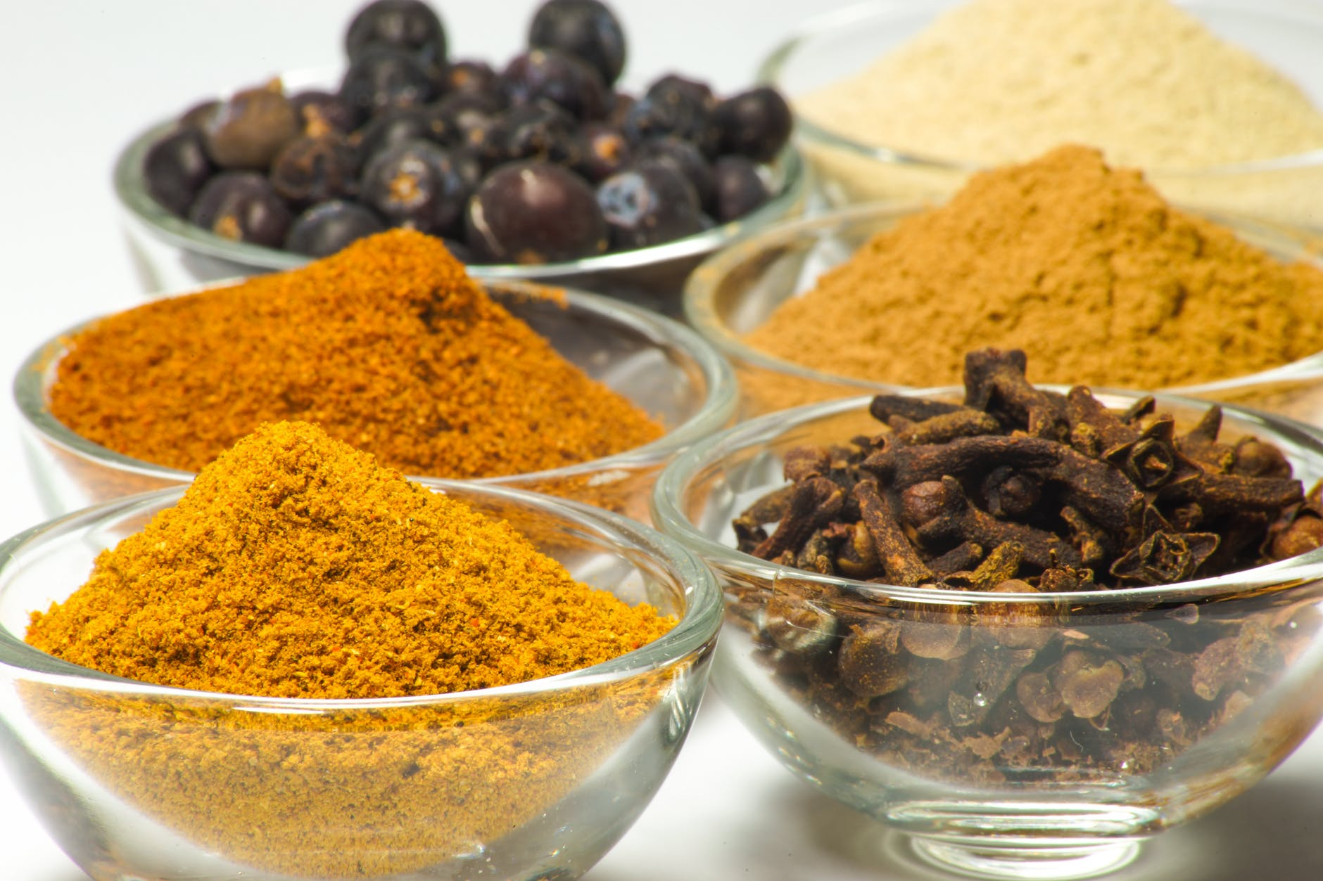 food white seasoning spices
